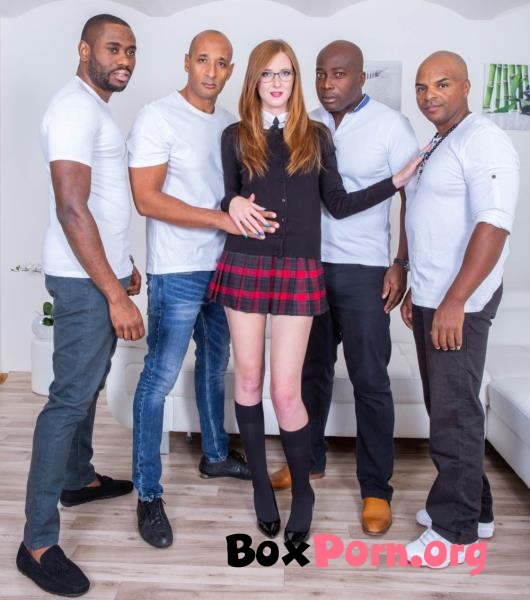 Schoolgirl Linda Sweet Enjoys Double Anal in Interracial Gangbang - Linda Sweet (2018 | FullHD | Private)