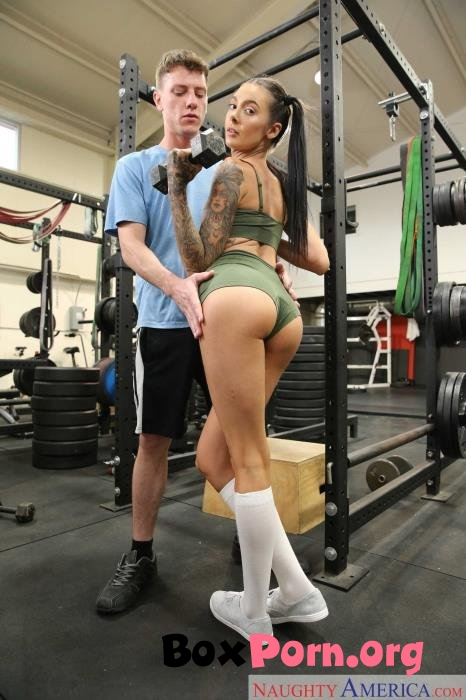 Marley Brinx pumps iron while riding her step bros cock - Marley Brinx (16.03.2019 | HD | SlutStepSister, NaughtyAmerica)