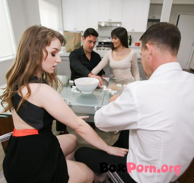 Domino Daughter Dick Down - Brooklyn Gray,Cleo Clementine (17.04.2019 | HD | DaughterSwap)