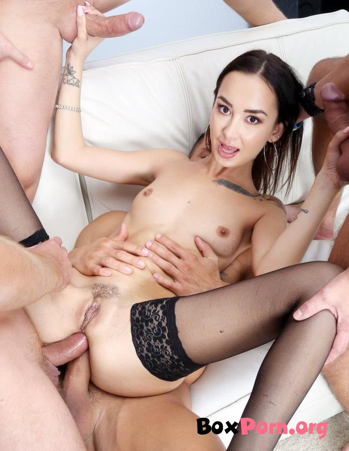 DAP Destination, Freya Dee Gets 4 On 1 Balls Deep Anal, First DAP, Big Gapes And Swallow GIO1220 - Freya Dee (2019 | SD)