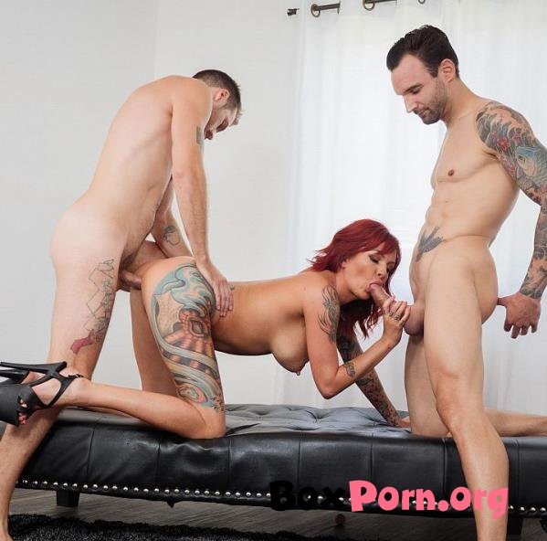 Double Vaginal With Tattooed Redhead Anya Gold - Anya Gold (04.12.2019 | FullHD | Spizoo)